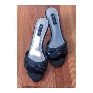 White House Black Market - Short black heels